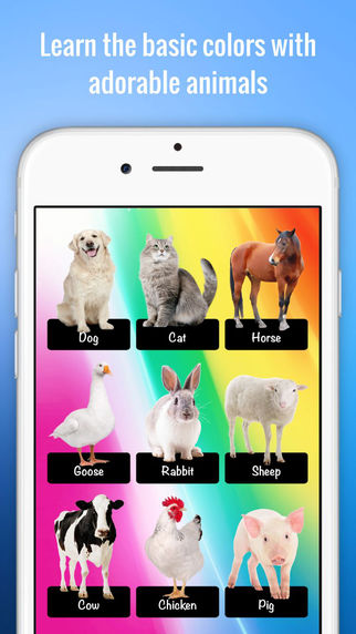 Color Zoo - Learn colors with animals