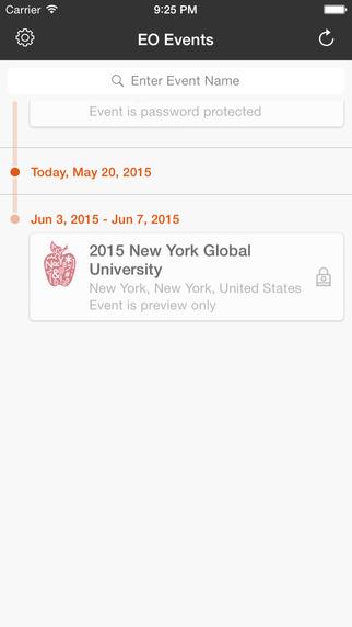 EO - Global Events