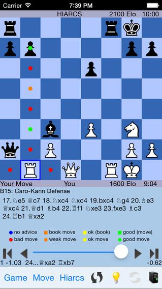 HIARCS Chess iPhone Screenshot 3