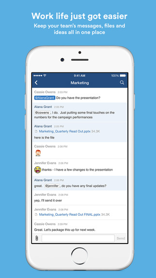 HipChat - Group chat video file share