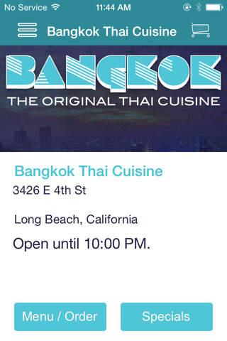 Bangkok Thai Cuisine screenshot 1