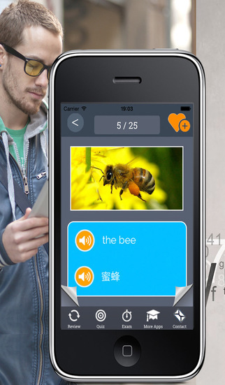 Learn Chinese vocabulary fast: Memorize Words