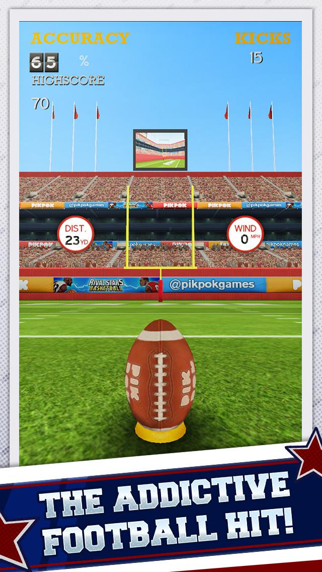App shopper flick kick field goal games