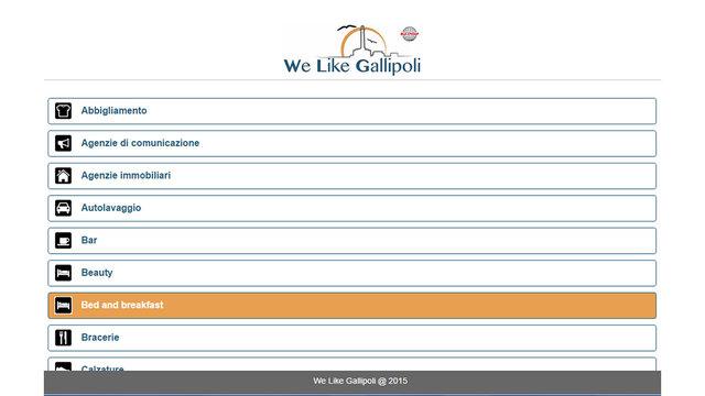 We Like Gallipoli