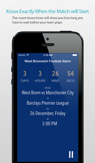 West Bromwich Football Alarm — News live commentary standings and more for your team