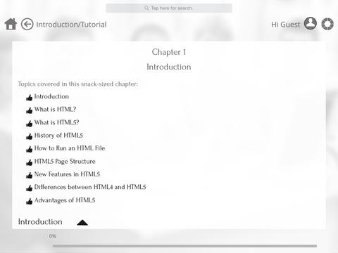 書籍必備免費app推薦|Learn Web Programming and HTML5  by GoLearningBus線上免付費app下載|3C達人阿輝的APP
