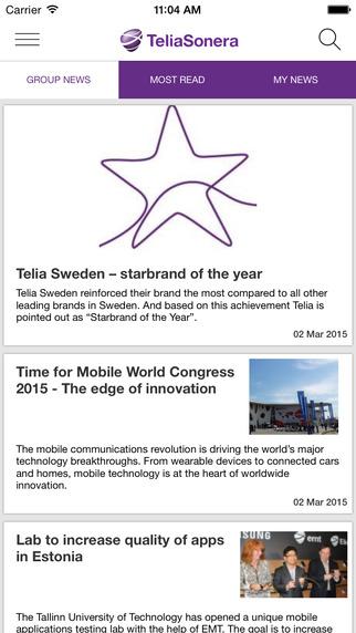 TeliaSonera News
