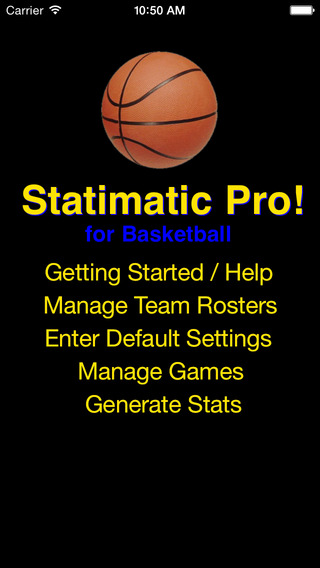 Statimatic Pro for Basketball
