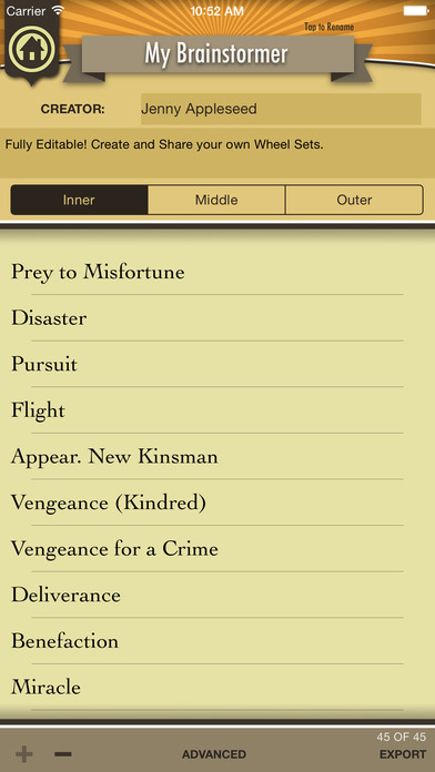The Brainstormer iPhone Screenshot 2