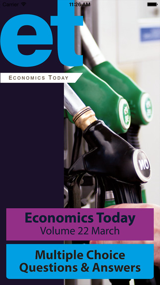 Economics Today Volume 22 March Questions
