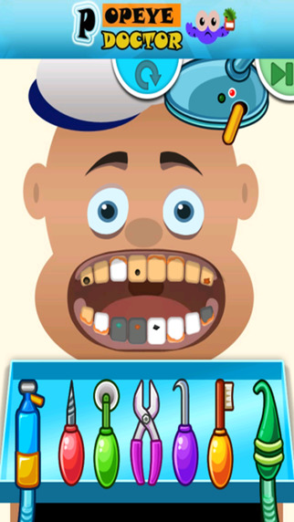 Kids Doctor Game Popeye Editor