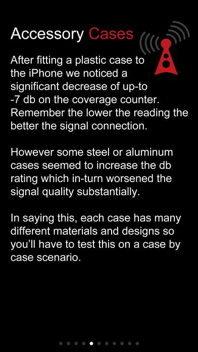 Signal Boost iPhone Screenshot 3