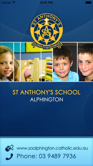 St Anthony's School Alphington - Skoolbag