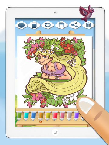 玩免費遊戲APP|下載Rapunzel - fun princess minigames for girls – Premium app不用錢|硬是要APP
