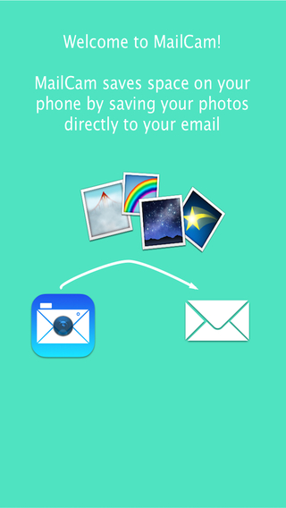 MailCam Downloads your photos to email to easily restore space