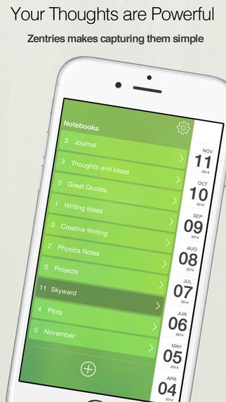 Zentries – 精美直观的日记[iOS]丨反斗限免