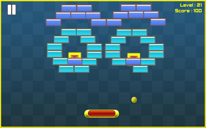 Bricks Breaker HD Free Screenshot - 2