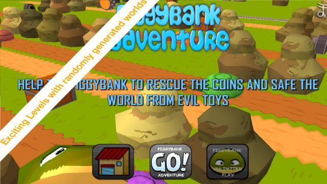 Piggybank Adventure - endless jumping action