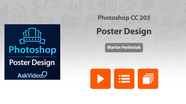 Course for Photoshop CC - Poster Design