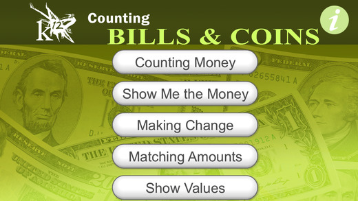 Counting Bills Coins