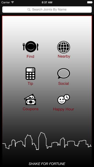 Dining Joint iPhone Screenshot 1