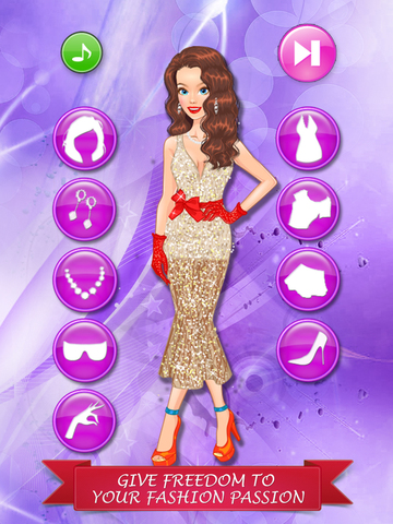 Old Style Fashion Dress Up Game Makeover For Girls And