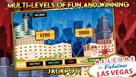Bingo Party and Keno Blitz with Big Fortune Prize Wheel