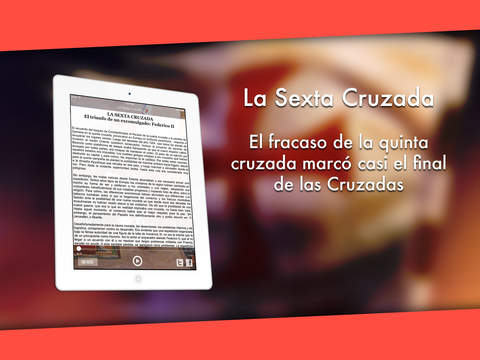 La Sexta Cruzada iPad Screenshot 2