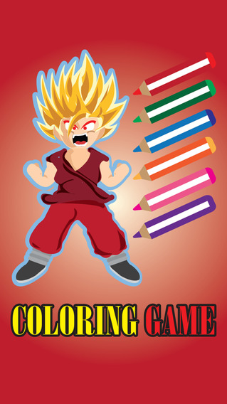 Coloring Book for Dragon Ball Z - Painting Version