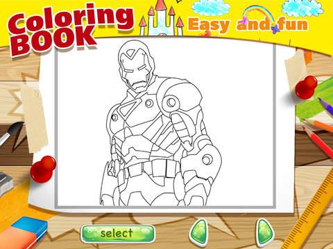 Super Hero Paint for Avenger