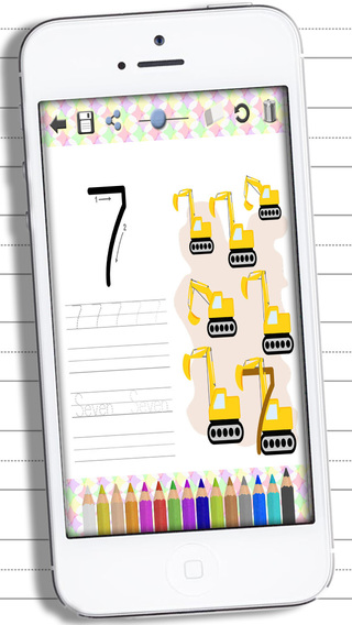 Learn to write letters and numbers– Handwriting for Kids - Premium