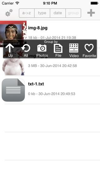 File Locker Free iPhone Screenshot 1