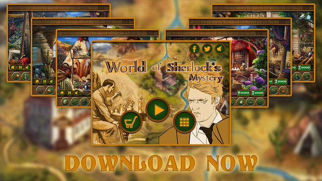 World of Sharlock's Mystery - PRO
