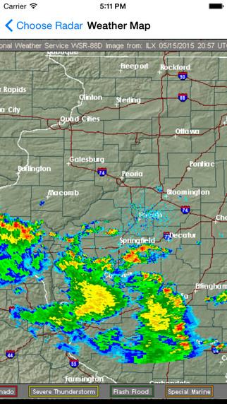 NOAA Alerts - NOAA Weather Radar & Severe Weather Notifications Screenshots