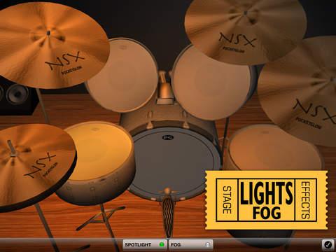 3D Drum Kit Pro iPad Screenshot 3