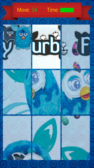 Puzzles Game - Furby Version