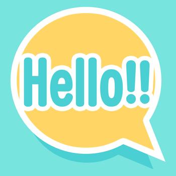 社交のHello!! -出会い探しの暇つぶしメッセージアプリ LOGO-記事Game