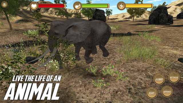 Elephant Simulator HD Animal Life