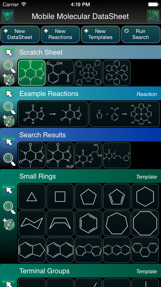 Mobile Molecular DataSheet - 化学结构绘图器[iOS]丨反斗限免
