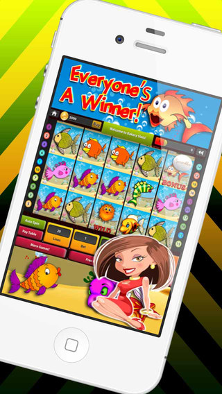 World Aquarium Adventure Slots HD- Experience the Underwater Casino: Win Big Jackpot Prizes