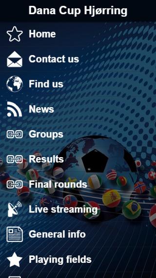 Dana Cup App