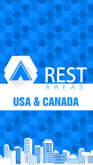 【免費旅遊App】Rest Areas USA & Canada-APP點子