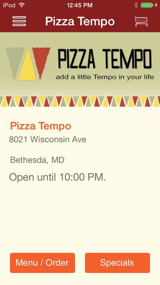 Pizza Tempo MD