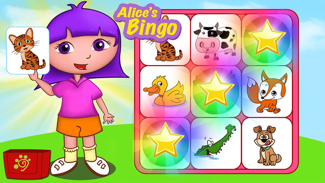 Kids Learn English Cards and Bingo