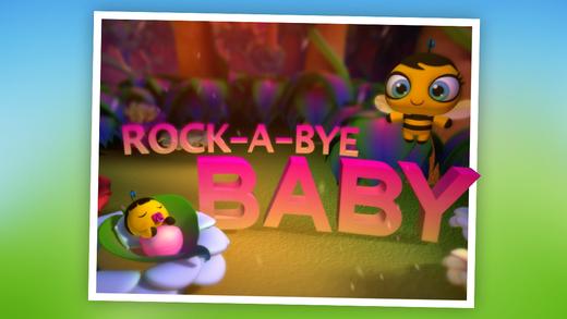 Rock A Bye Baby: Children's Nursery Rhyme HD