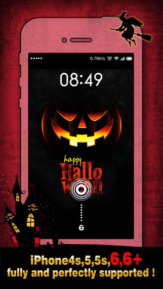 Halloween Wallpapers Backgrounds Pro - Home Screen Maker with Pumpkin Scary Ghost Images