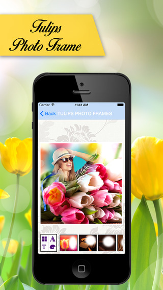 玩攝影App|Tulips Photo Frames免費|APP試玩