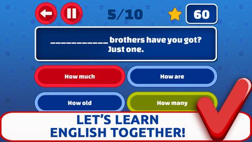 English Grammar Quiz Prof