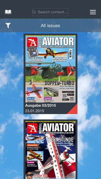 Modell AVIATOR - Test Technik für den Modellflug-Sport