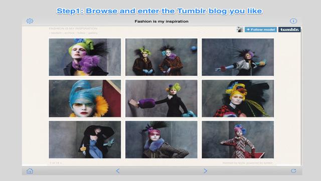 Crawler for Tumblr
